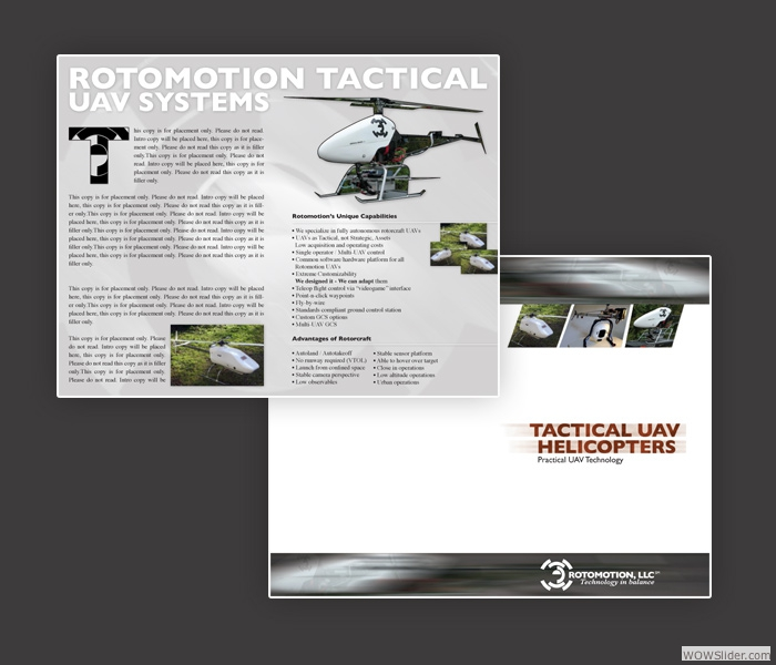 Brochure for Rotomotion